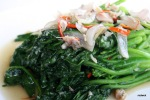 Hong Kong Kailan with Salted Fish